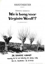 Wie is bang voor Virginia Woolf